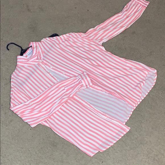Fashion Nova Tops - Striped long sleeve